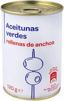 Aceituna manzanilla rellena anchoa - Producte - es
