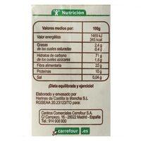 Harina integral centeno - Informations nutritionnelles - es