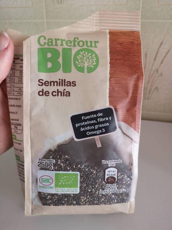 semillas de chia tiene proteinas