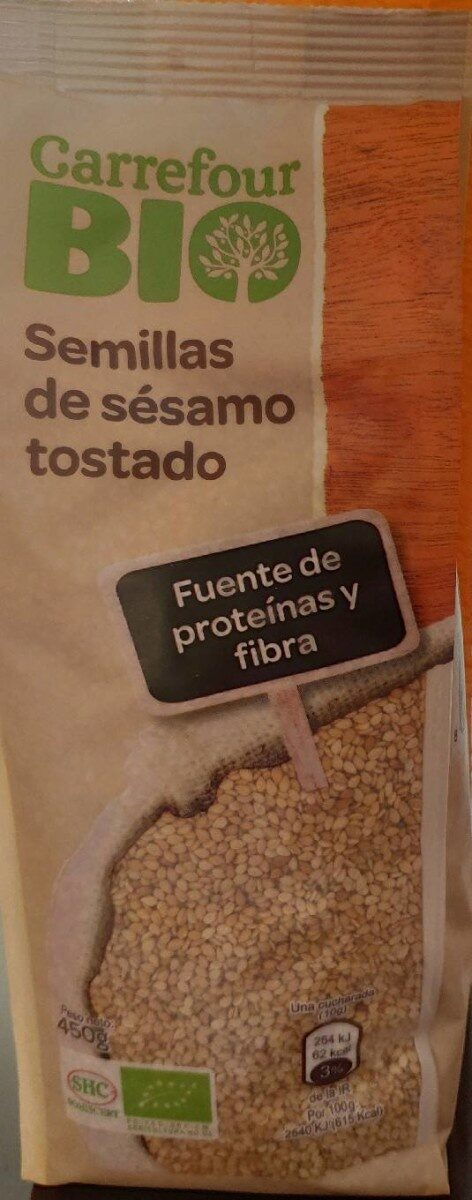 Semillas de sésamo tostado - Producte