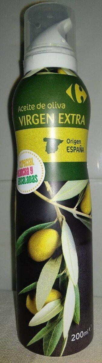 Aceite de oliva virgen extra spray Carrefour - Product