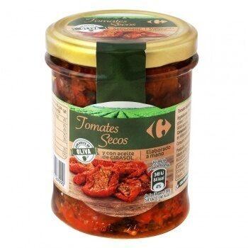 Tomates secos con aceite - Producto