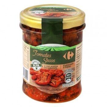 Tomates secos con aceite - Producto - es