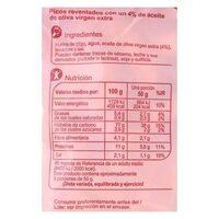 Picos reventados - Informations nutritionnelles - es