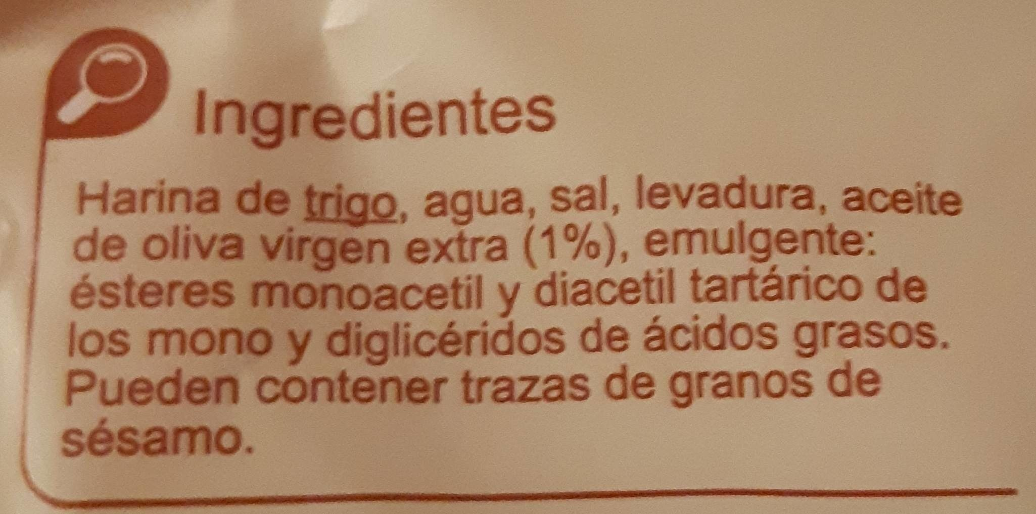 Picos camperos - Ingredientes