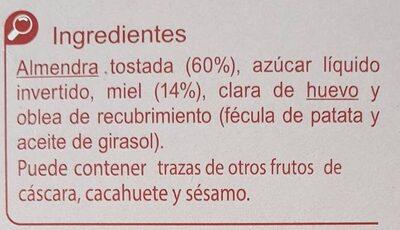 Torta Alicante - Ingredientes - es