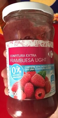 Confiture extra Frambuesa light - Producto