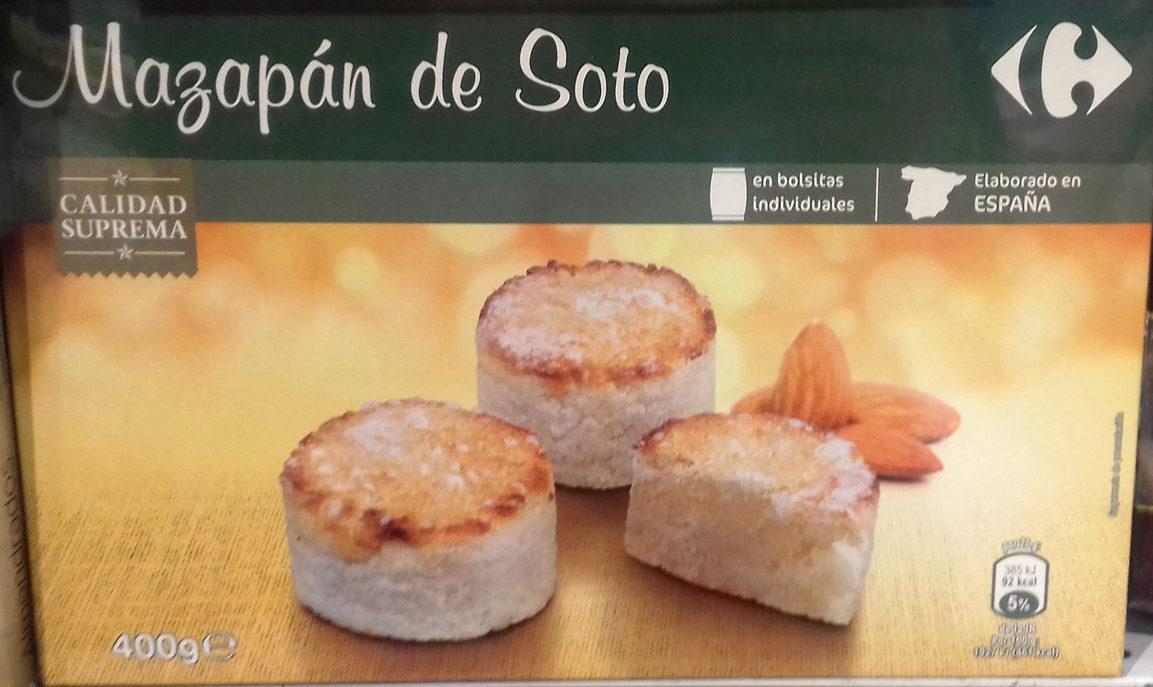 Mazapán de Soto - Producto