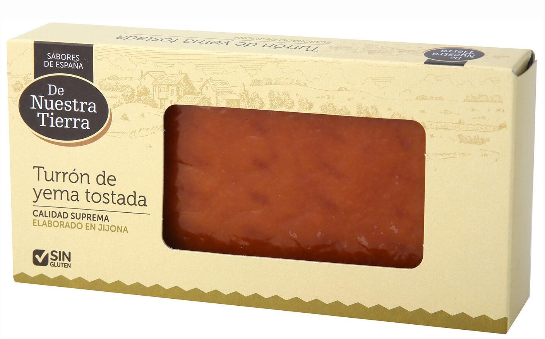 Turrón de yema tostada - Product - es