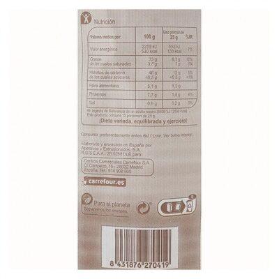 Patatas fritas cartucho sarten - Nutrition facts - es