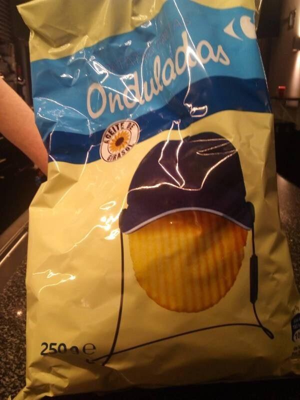 Patatas Fritas Onduladas - Produit - es