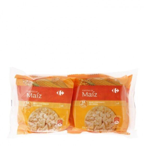 Tortitas de maiz - Producto - es