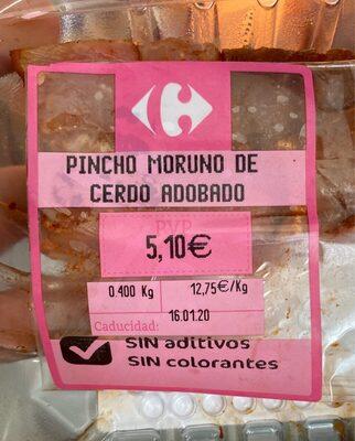 Pincho Moruno de Cerdo Adobado - Product