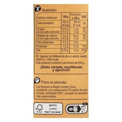 Crema de bogavante - Informations nutritionnelles - es