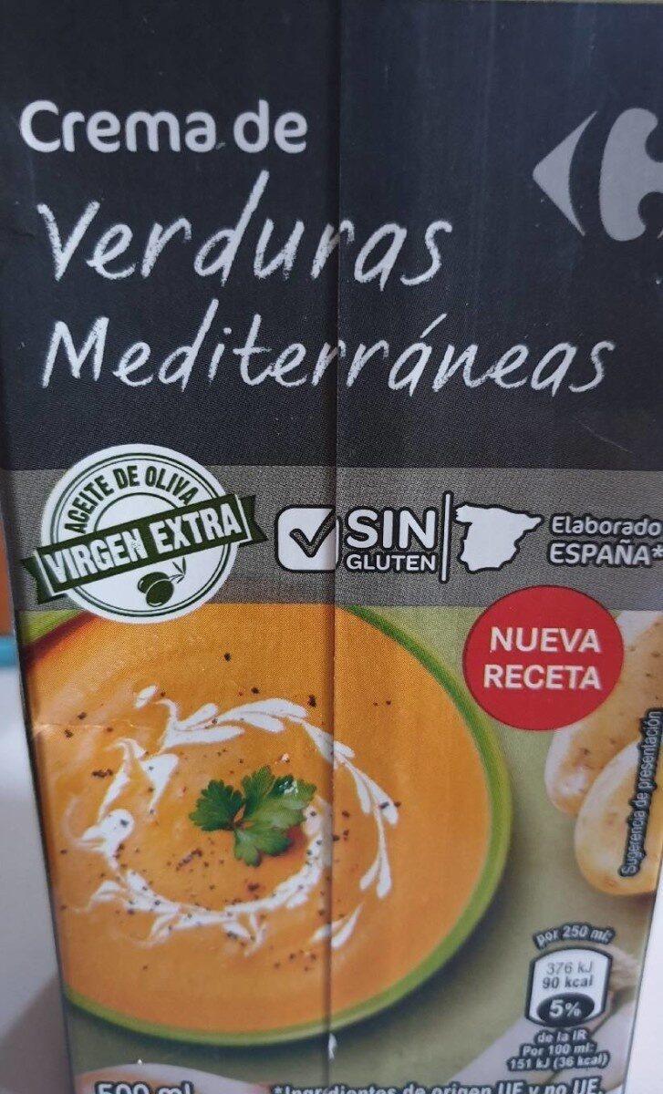 Crema de verduras - Producto