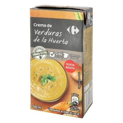 Crema verduras huerta - Producto - es
