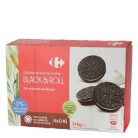 Galleta negra-blanca sin azúcares añadidos - Product - es