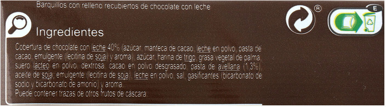 Barquillo cacao tradicional - Informació nutricional - es