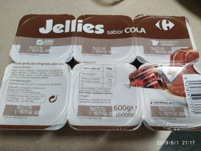Jellies sabor cola - Product