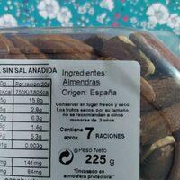 Almendra Largueta con piel tostada sin sal añadida - Ingredientes - es