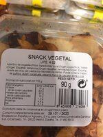 Snack vegetal - Nutrition facts