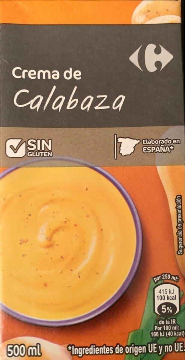 Crema de Calabaza - Product
