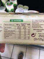 Natillas de soja al cacao - Nutrition facts