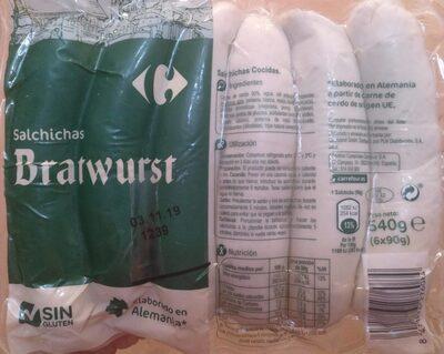 Salchichas Bratwurst