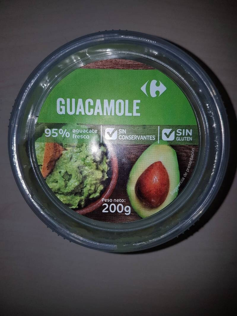 Guacamole carrefour - Product - es