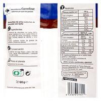 Mini tortitas arroz cubiertas choco c/leche - Informació nutricional - es