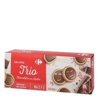 Galletas trios chocolate con leche - Producto - es