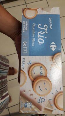 Galletas Trío Chocolate Blanco - Product