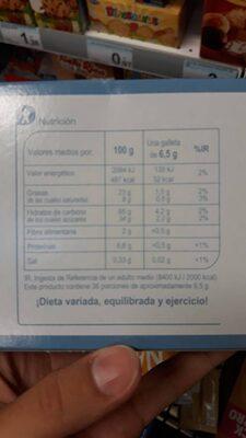 Galletas Trío Chocolate Blanco - Voedigswaarden