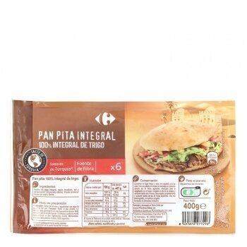 Pan pita integral - Prodotto - es