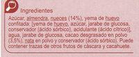 Turrón brownie con nueces - Ingredientes - es