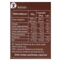 Conos chocolate - Nutrition facts - es