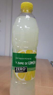 Agua mineral y zumo de limón zero - Product