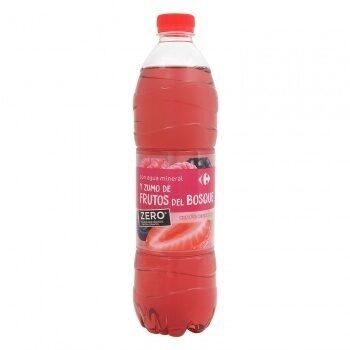 Agua frutos rojos zero - Producto - es