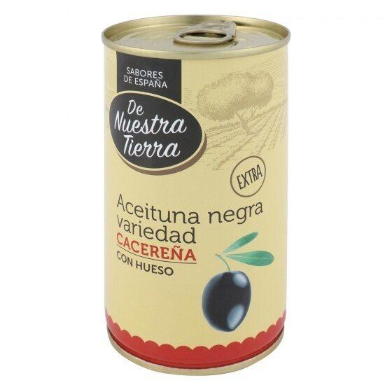 Aceitunas negras manzanilla cacereña - Produit - es