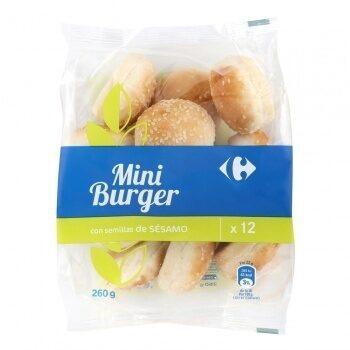 Pan mini hamburguesas con sésamo - Prodotto - es