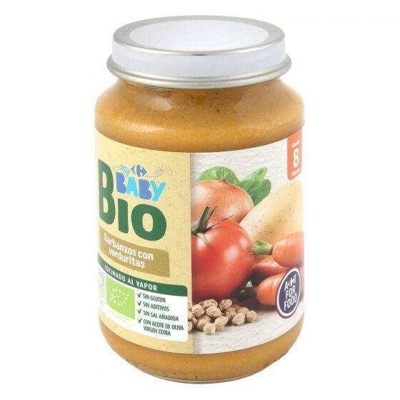 Tarrito garbanzos verduras - Produit - es