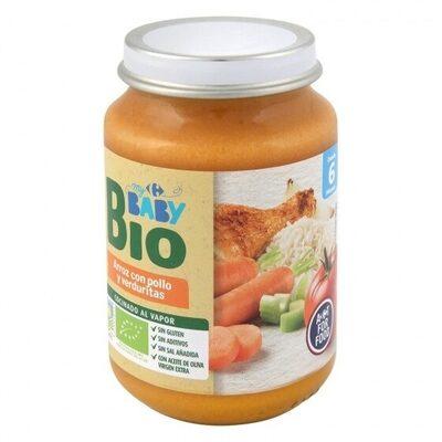 Tarrito arroz pollo verduras - Produit - es