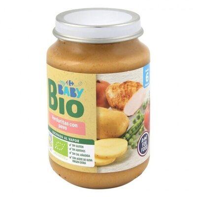 Tarrito verduras pavo - Produit - es