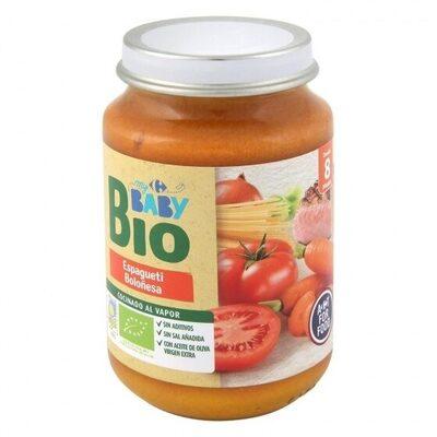 Tarrito espaguetis boloñesa - Produit - es