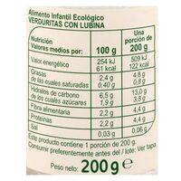 Tarrito verduras lubina - Informations nutritionnelles - es