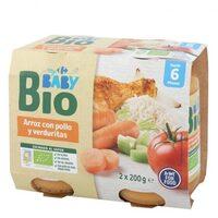 Tarrito arroz pollo veduras - Produit - es