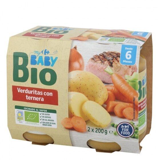 Tarrito verduras ternera - Produit - es