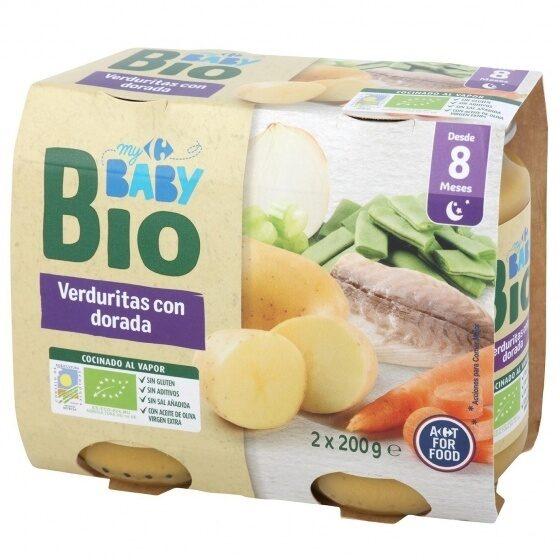 Tarrito verduras dorada - Produit - es
