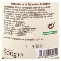 Miel de flores - Informations nutritionnelles - es
