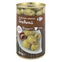 Aceituna manzanilla de anchoa s/poten - Producte - es